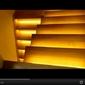 9 schodów - zestaw do oświetlenia schodów szerokość oświetlenia 45 cm
