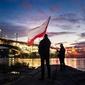 Warszawa 11 listopada - plakat premium wymiar do wyboru: 100x70 cm