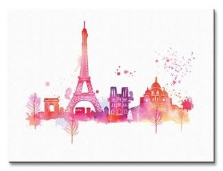 Paris skyline - obraz na płótnie