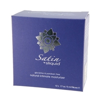 Sexshop - sliquid naturals satin lubricant 60 ml  saszetki - środek nawilżający z aloesem i karagenem - online
