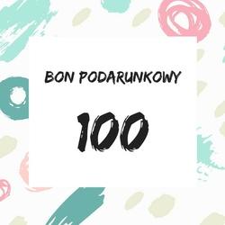 bon podarunkowy o wartości 100 zł - ekspresowy prezent