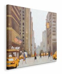 7th Avenue - New York - Obraz na płótnie