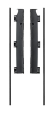 Uchwyt montażowy do ściany do bramek FLEX M, L, XL - czarny