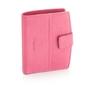 Damski portfel valentini black  red diamond 297 różowy - różowy