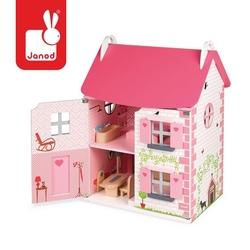 Domek dla lalek z 11 meblami