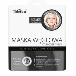 L'biotica Maska Węglowa na tkaninie 23ml