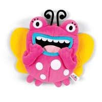 Pluszak edukacyjny EKO, Tidy Freaks Superheroses, różowy