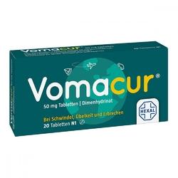 Vomacur w tabletkach
