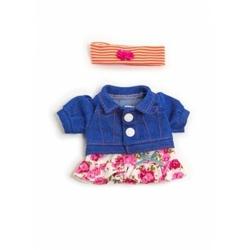 Ubranko dla lalki 21 cm spódniczka, bluzka, opaska