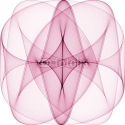 Obraz na płótnie canvas czteroczęściowy tetraptyk streszczenie 3d