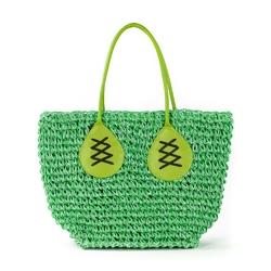 Koszyk plażowy green - GREEN