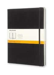 Notes Moleskine w twardej oprawie XL czarny w linie