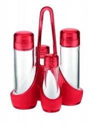 Zestaw na przyprawy mirage, czerwony - czerwony