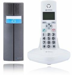 Domofon bezprzewodowy comwei d102w, teledomofon biały - szybka dostawa lub możliwość odbioru w 39 miastach