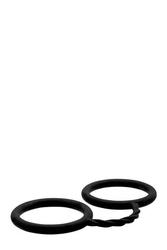 Silikonowe kajdanki czarny | 100 oryginał| dyskretna przesyłka