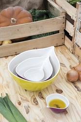 Zak miska 25 cm onion beżowa