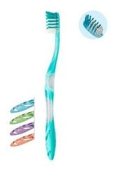 Elgydium anti-plaque szczoteczka do zębów medium x 1 sztuka