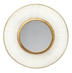 Kare design :: lustro sun storm gold ø93cm