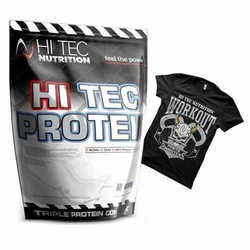 Hitec Protein 2250 g + Tshirt Gratis - Vanilla  M