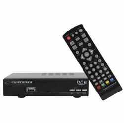 Esperanza Tuner DVB-T do cyfrowej telewizji naziemnej + pilot