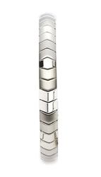 bransoletka magnetyczna 439-1 z miedzią oraz polerowanymi elementami