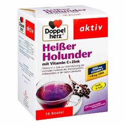 Doppelherz  Heißer Holunder granulat czarny bez z wit.C + cynk