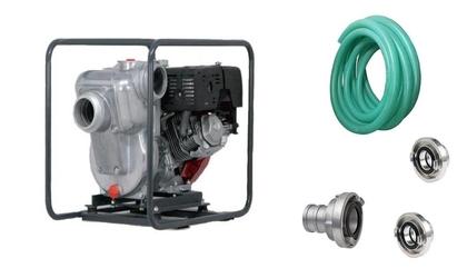HONDA Pompa wody QP-402SX ZESTAW WĄŻ SSAWNY +2 X NASADA + ŁĄCZNIK + OLEJ 10W30 GRATIS