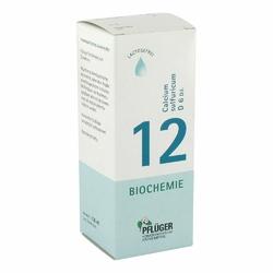 Biochemie Pflueger 12 Calcium sulfur.D 6 Tropfen