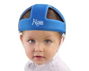 Kask ochronny do nauki chodzenia, niebieski, KioKids