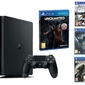 KONSOLA SONY PS4 1TB SLIM + UNCHARTED + 3 MEGA GRY