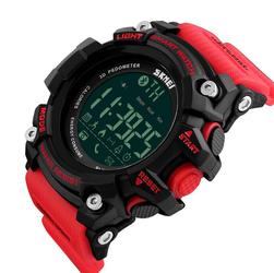 SPORTOWY zegarek SKMEI 1227 BLUETOOTH red - RED