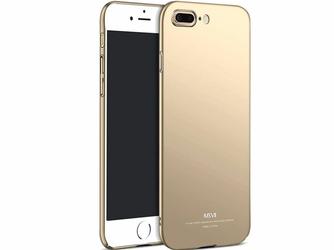 Etui MSVII Thin Case do Apple iPhone 8 Plus Złote - Złoty