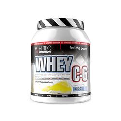 Hi Tec Whey C6 1000 g Białko Wielofrakcyjne - Chocolate Biscuit
