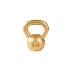 8 kg Kettlebell żeliwny hantel kettle Gorilla Sports