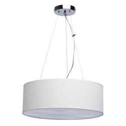 Klasyczna biała wisząca lampa idealna do jadalni 453010906
