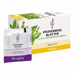Pfefferminzblaetter Tee Filterbtl.