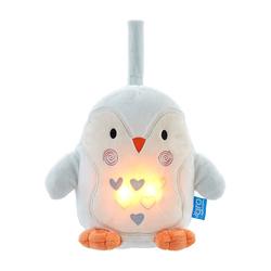 Szumiąca przytulanka z lampką i czujnikiem płaczu - Pingwin Percy