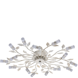 Duża lampa sufitowa LED kolekcja kwiatowa MW-Light Flora 334012815