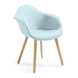Krzesło TOME jasnoniebieskie - miętowy