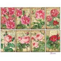 Zestaw papierów MINI 24 szt. - Roses - ROSES