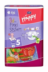 Bella Happy Junior, pieluchy dla dzieci 12-25kg, 46 sztuk