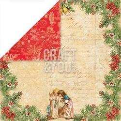 Papier ozdobny 30,5x30,5 Christmas Story - 02 - 02