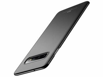Etui MSVII Thin Case do Samsung Galaxy S10 Plus Niebieskie - Czarny
