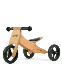 Milly Mally Jake Natural Drewniany Rowerek biegowy 2w1 + Prezent 3D