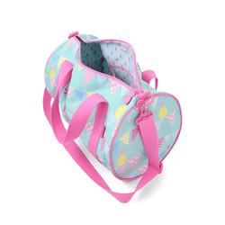 Podręczna torba miętowo-różowa w ananasy Penny Scallan