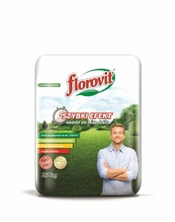Florovit, Szybki Efekt, nawóz granulowany do trawników, 25kg