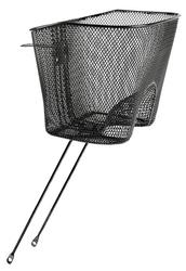 Kosz rowerowy przedni pod lampę montaż do sterów 1