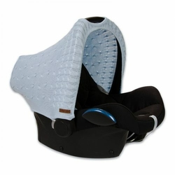 Babys Only, Cable Baby Blue Daszek wymienny na fotelik samochodowy 0+, Niebieski