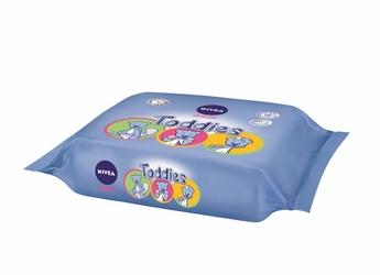 Nivea Baby Toddies, chusteczki nawilżane dla dzieci, 60 sztuk