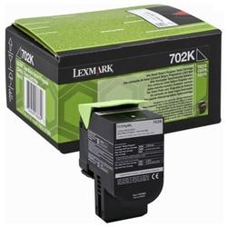 Toner Oryginalny Lexmark 702K 70C20K0 Czarny - DARMOWA DOSTAWA w 24h